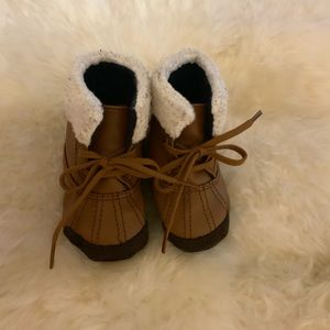 Soft Bottom Infant Boots